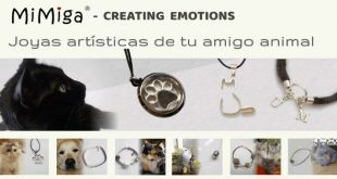 Mimiga diseña joyas con pelo de tu mascota