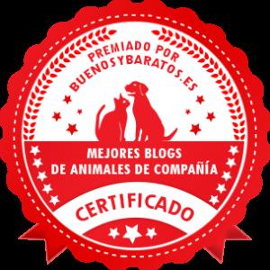 Premio al mejor blog de animales de compañía